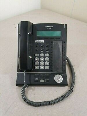 Panasonic KX-T7633 Corded Office Phone Good Condition Used Tested Working