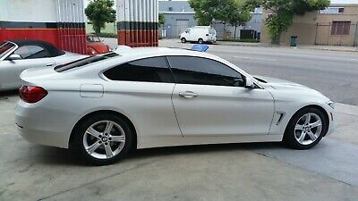 2015 BMW 4-Series BLACK 2015 BMW 428I WHITE LOW MILES  MILES VERY CLEAN CAR