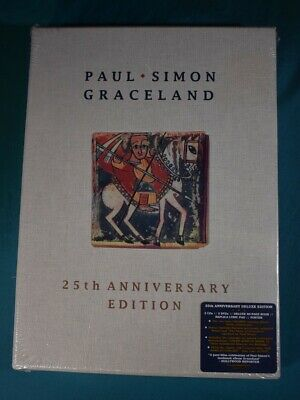 Paul Simon Graceland 25th Anniversary Deluxe Edition Box Set 2 CDs & 2 DVDs