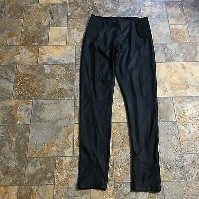 Womens Shinestar Pants Black Size M Stretch Skinny Ankle Leggings 29 Inseam