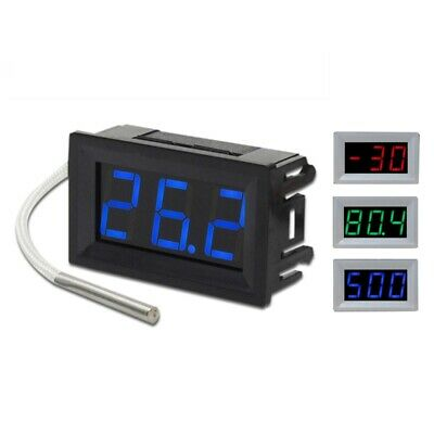 1X(Xh-B310 Industrial Digital Thermometer 12V Temperature Meter K-Type TherA3X4)
