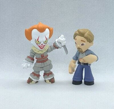 Funko Mystery Minis It Chapter 2 Lot Ben Hanscomb & Pennywise Walmart Exclusive