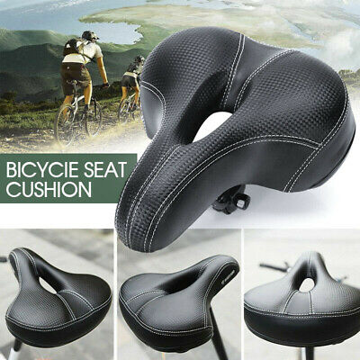 Road MTB Mountain Bike Saddle Bicycle Spring Seat Soft Padded Cushion Cover VIC