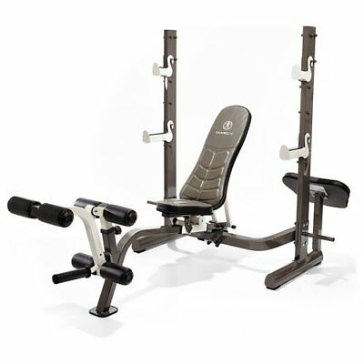 Marcy Pure Olympic Weight Bench.