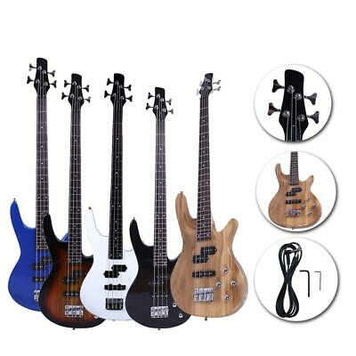 New 6 Colors School Band 4 Strings Electric Guitar Bass