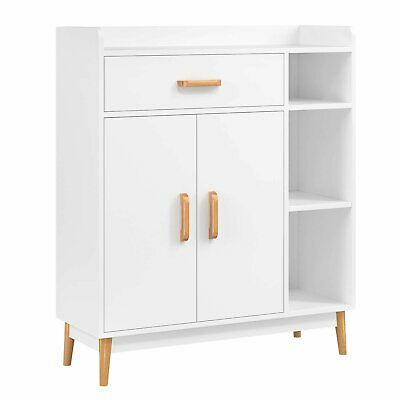 Wooden Sideboard Cupboard Storage Unit Hallway Cabinet With Doors Drawer Shelf