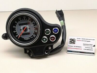 New Genuine Nuovo Triumph Cruscotto Completo INSTRUMENT ASSEMBLY KM/H