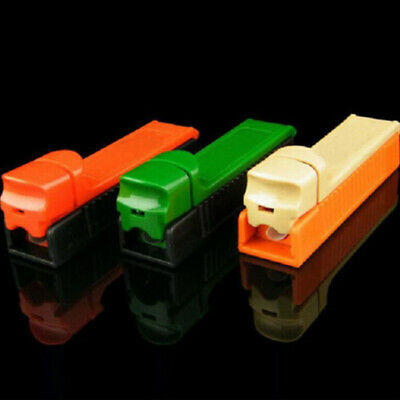 Manual Cigarette Tube Rolling Machine Tobacco Roller Injector Maker Multi Color