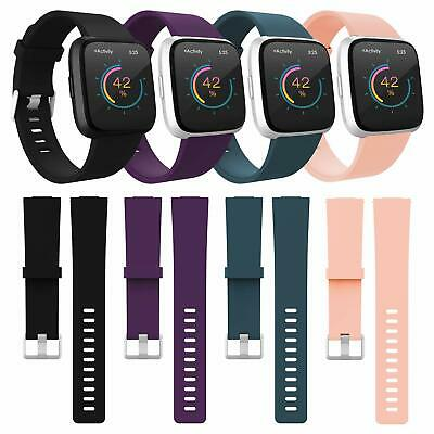 4Pack Replacement Wristband Women Men Large Small For Fitbit Versa &Lite/SE Band