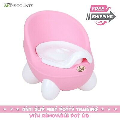 Superb Kid Baby Toilet Seat Toddler Training Potty Trainer Safety Chair Urinal