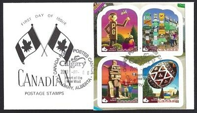 Canada  # 2336 BK    ROADSIDE ATTRACTIONS SPECIAL CACHET   New 2009 Unaddressed