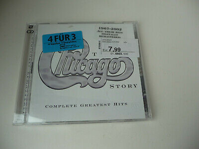 2 CD ALBUM The Chicago Story - Complete Greatest Hits von Chicago