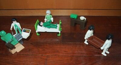 PLAYMOBIL Y1137 HOPITAL Table Basse Marron Salle d/'Attente Dentiste 3762