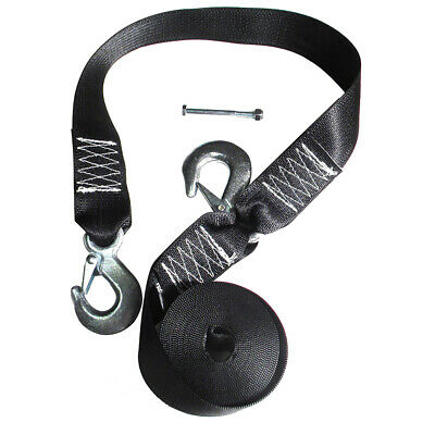 Rod Saver WS20S Winch Strap Replacement W/safety Strap - 20'