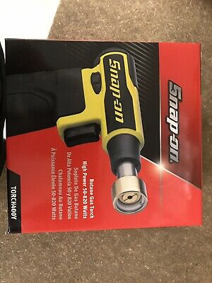 Snap On Cordless High Power Butane Gas Blow Torch 50/820 watts TORCH400Y