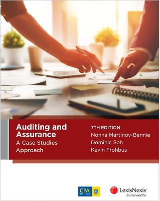 (Digital) Auditing and assurance: a case studies approach 7th edition