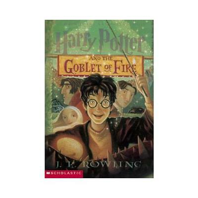 Harry Potter and the Goblet of Fire by J K Rowling, Mary GrandPre (illustrator)