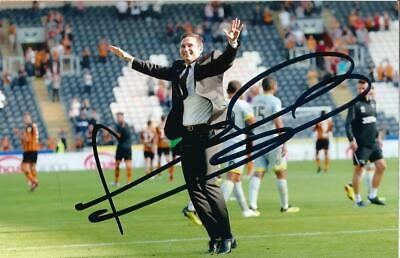 DERBY & CHELSEA: FRANK LAMPARD SIGNED 6x4 ACTION PHOTO+COA