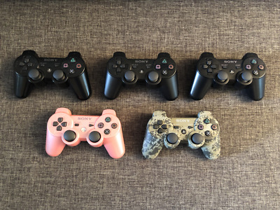 Official Sony PS3 (PlayStation 3) Wireless DualShock Controllers * You Pick *
