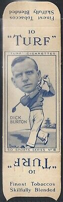 Carreras-Uncut Single Turf Slide-Sports Series-#18- Golf - Dick Burton