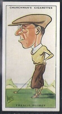 Churchman-Prominent Golf Ers (Standard Size)-#31- Francis Ouimet