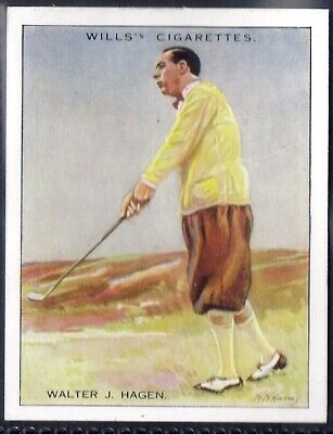 Wills-Famous Golf Ers-#07- Walter Hagen