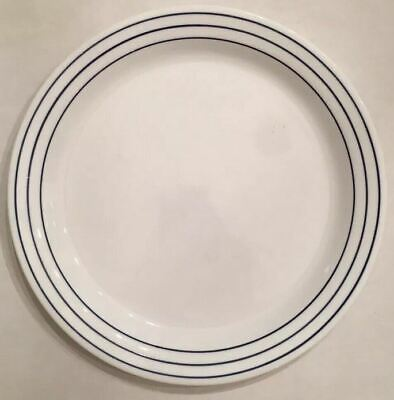 Corelle Blue & White Classic Cafe Orchid Lyrics Lunch Luncheon Plate