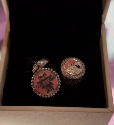 Disney Parks EPCOT Food and Wine Festival 2019  Pandora Charm SET of TWO