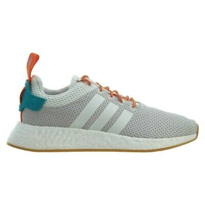 ADIDAS NMD R2 Boost Outlast Summer Shoes 3M Crystal White Grey Gum CQ3080 Size 9