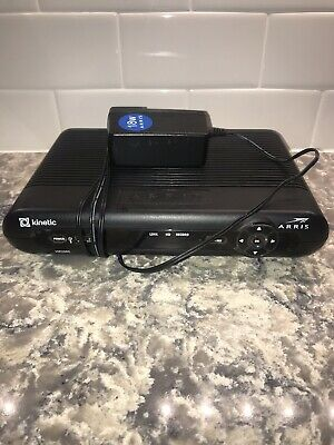 ARRIS Frontier Set Top TV Receiver Box Model VIP2502  with Power Cord