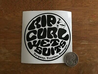 Rip Curl Sticker Decal - UV Laminated - Lasts 7+ Years Outdoors - Surf - Skate