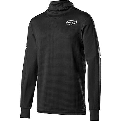 Fox Mtb Defend Thermo Hooded Mens Jersey Enduro - Black All Sizes
