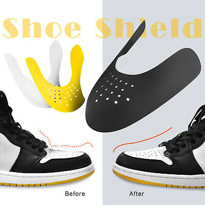 Pairs Shoe Anti Crease Shields Toe Creasing Protector Force Fields Sneaker Care
