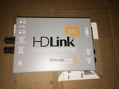 Blackmagic Design HD Link  Dual Link HD-SDI HDTV converter to DVI-D display