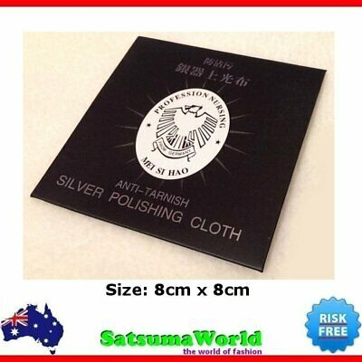Premium Soft Silver Polishing Cloth Jewellery Cleaning Clean Polish 925 Sterling