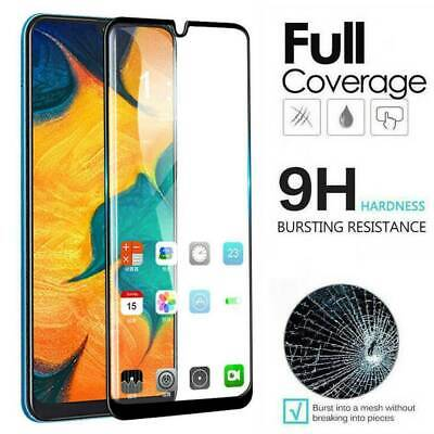 For Samsung Galaxy A10s A30s A50s 9D Full Cover Tempered Glass Screen Protector