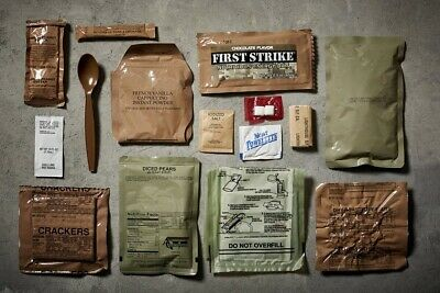 Genuine Military MRE Meal with Inspection Date 2020 or Better 5 PACK (5  Meals)