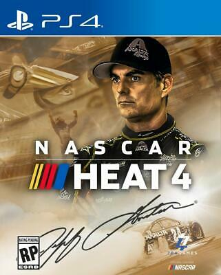 NASCAR Heat 4 GOLD Edition with Season Pass (PlayStation 4) BRAND NEW SEALED ps4