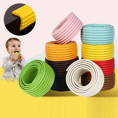 1Pc Baby Safety Table Corner Edge Cushion Strip Bumper Soft Guard Protection 2m