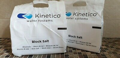 COLLECTION/LOCAL DELIVERY Kinetico Water Softener Block Salt £6 per pack