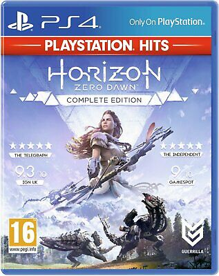 Horizon Zero Dawn PS4 Hits Game.