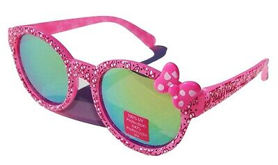 MINNIE MOUSE DISNEY JUNIOR Girls 100% UV Shatter Resistant Sunglasses NWT