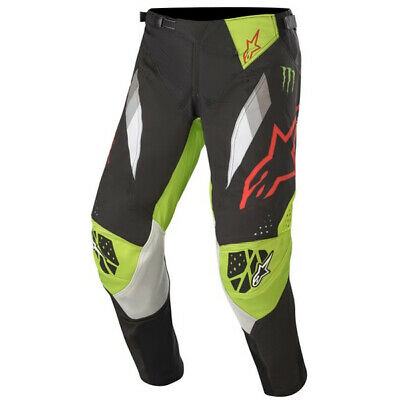 Alpinestars Techstar Monster Eli Tomace Black Green Pants