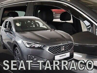 SEAT TARRACO 2019-up  WIND DEFLECTORS 4pc HEKO TINTED