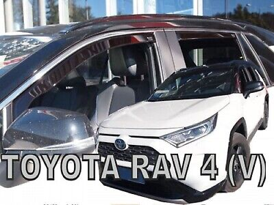 TOYOTA RAV4 2019-up  WIND DEFLECTORS 4pc HEKO TINTED