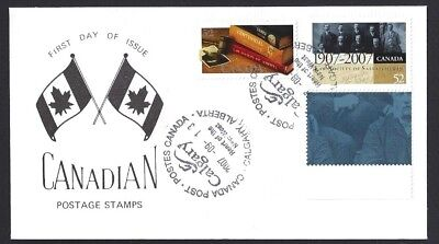Canada  # 2227 & 2228  SPECIAL LAW SOCIETIES EVENT CACHET     New 2007 Issue