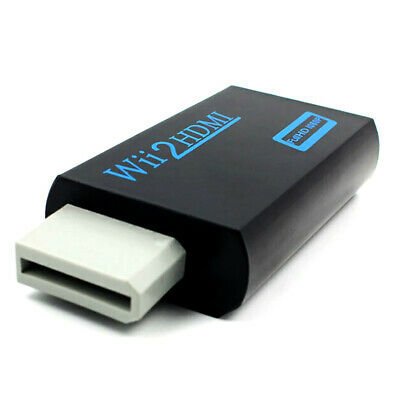 DI- 3.5mm Audio for Wii to HDMI Full HD 1080P Adapter Converter for HDTV
