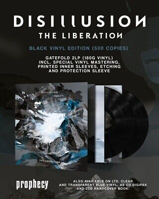 Disillusion - The Liberation  2 Vinyl Lp New!