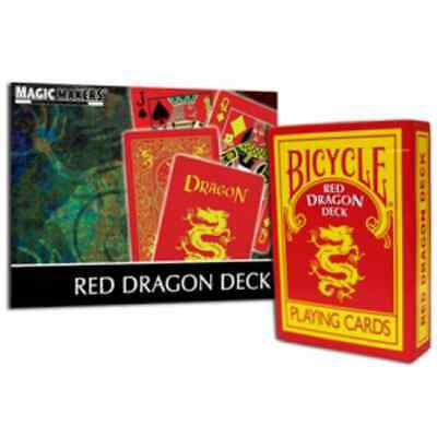 Bicycle Red Dragon Playing Card Deck