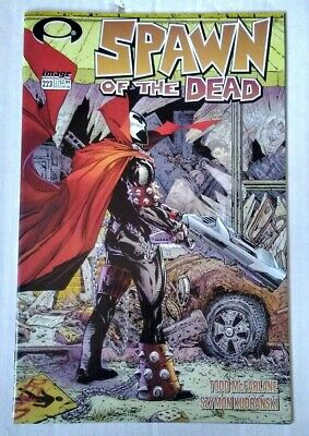 Spawn 223 2012 Homage Cover to Walking Dead Todd McFarlane